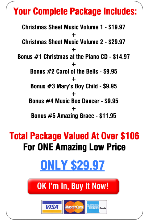 Buy Sheet Music Package Now