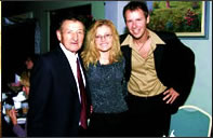 Walter Gretzky Nancy Houle and Paul Tobey