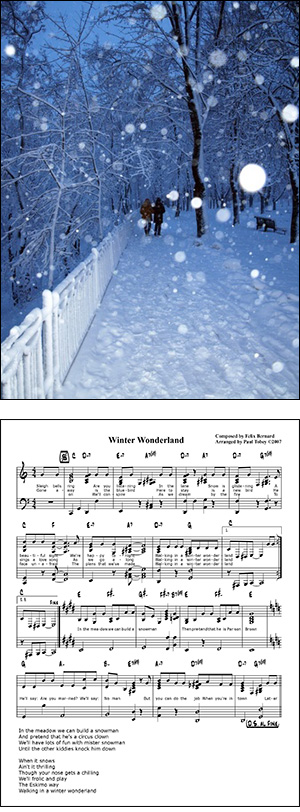 Winter Wonderland Sheet Music Free