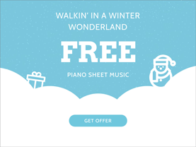 Fee Walkin in a Winter Wonderland Sheet Music
